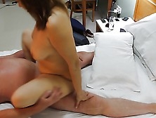 Uzbekistan whore milf lets me use her and spunk over her 5
