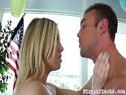 Strapon Loving Domina Pegging Her Sub