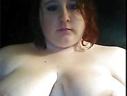 Fat Girl On Webcam