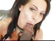Gigantic Black Dick Pounds Young Chick