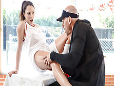 Lily Love & Johnny Sins In Applying Pressure To The Tender Pussy