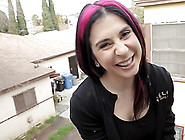 Tattooed Emo Joanna Angel Is Smiling