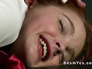 Busty Mistress Seducing Redhead Student