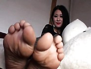 Asian Will Take Her Nylons Off