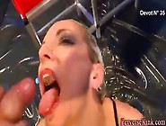Bizarladys Drinking Pee And Swallow Cum