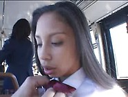 Alexis Love Rides The Bus In Japan