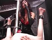 Mistress Using Slaves Butthole As Ashtray (Smoking Femdom)