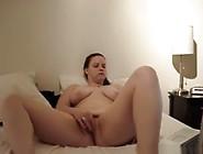 Bbw Girl Watches Porn On Her Laptop And Masturbates