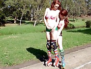 Girls Out West - Peggie & Harley - Rollergirls Pt1