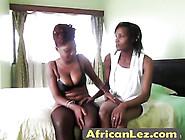 Awesome Ebony Amateur Sluts Having Great Lesbian Sex