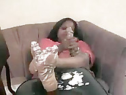 Ebony Lotioned Soles Two