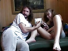 Stp1 Daddy Catches Her Horny So Gives Her What She Needs !