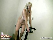 Sexy Granny With Big Tits Dancing Naked By Oldnannies