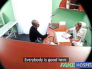 Hot Nurse Is Fucking A Handsome Guy In The Doctor's Office,