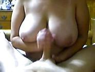 Bbw Lets Me Cum On Her Huge Tits