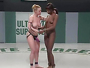 Darling Fucks Black Hottie Safari During A Catfight On Tatami