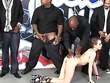 Slutty Riley Reid Fucked With Black Wieners