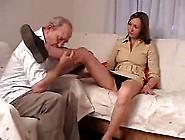 Old Man Fucks Hot Teen