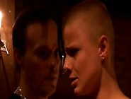 Shorthair Blonde Slave Hard Pained In A Candlelight Basement