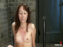 Emma Haize Is Helpless We Clamp Her Sensitive Nipples Flog Her S