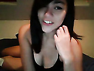 Adorable Asian Teen Shows Me Her Perky Natural Tits On Webcam