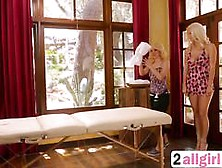 Blonde Aaliyah Love And Natalia Starr Pussy Licking