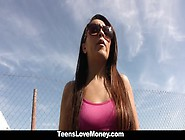 Teenslovemoney - Curvy Latina Fucked For Free Ride And Money