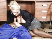 Lana Coxx Office Milf Sucking Cock