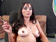 Charming Brunette Milf Is Making Some Love With Dan