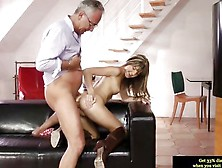 Doris Ivy Fucked Hard By Older Guy