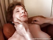 Grandma Gets Her Fill Of Grandpas Mature Hard Man Meat