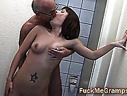 Grandpa Perverting Teen Hottie
