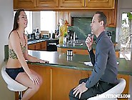 Insatiable Teen Is Getting Nailed In The Late Afternoon And Scre