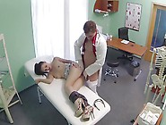 Doctor Love's Office-Brit Patient-By Packmans