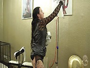 Piss Enema And Drink From German Mistress