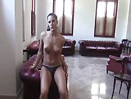 Athina Love Got Man Juice All Over Her Perky Tits