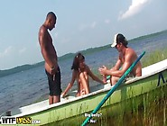 Horny Student Sex Friends Go Boating