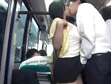 Sweet Asian Chicks Groped And Screwed On Busses. Mp4