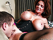 Jaw-Dropping Mommy Deauxma With Giant Tits If Fucked Mish Style