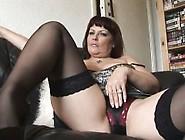 Big Tits Mature Curvy Babe Solo Striptease