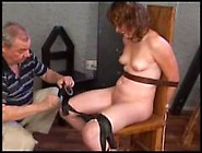 Electric Torture / Woman Tied To A Chair And Tortured