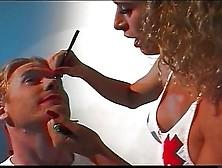 Tranny Nurse Feminizing Man