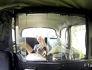 Long Legged British Blonde In Fake Taxi Gives Blowjob