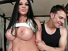 Big Tits Audrey Bitoni Moans When Big Cock Blast Her Doggystyle