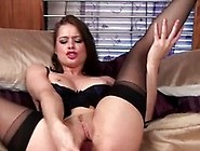 Dirty Talking Mom Fucks Her Own Pussy