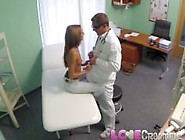 Love Creampie Doctor's Patient Dripping From The Cum Shot Inside