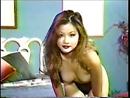 Sexy Teenie Perky Tit Oriental Lady Fingers Her Perfect Little E