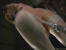 Teens Hard Spanked And Waxed In Live Bdsm