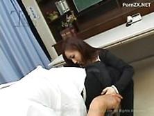 image Teen cutie ren kikukawa in a school uniform sucking dick