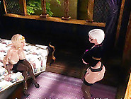 Sexy Anime Shemale Elf Gets Cock Rubbed